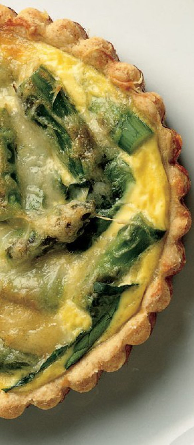 Tarte with Asparagus and Chicken Mousse