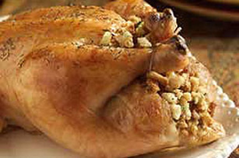 Stuffed Chicken ( with white wine stuffing)