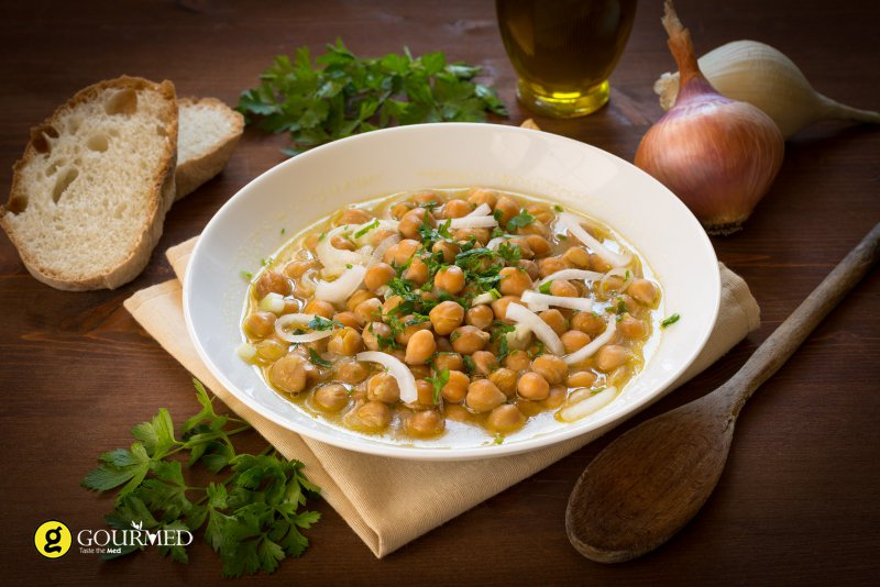 Revithada from Sifnos - a local  Chickpeas soup