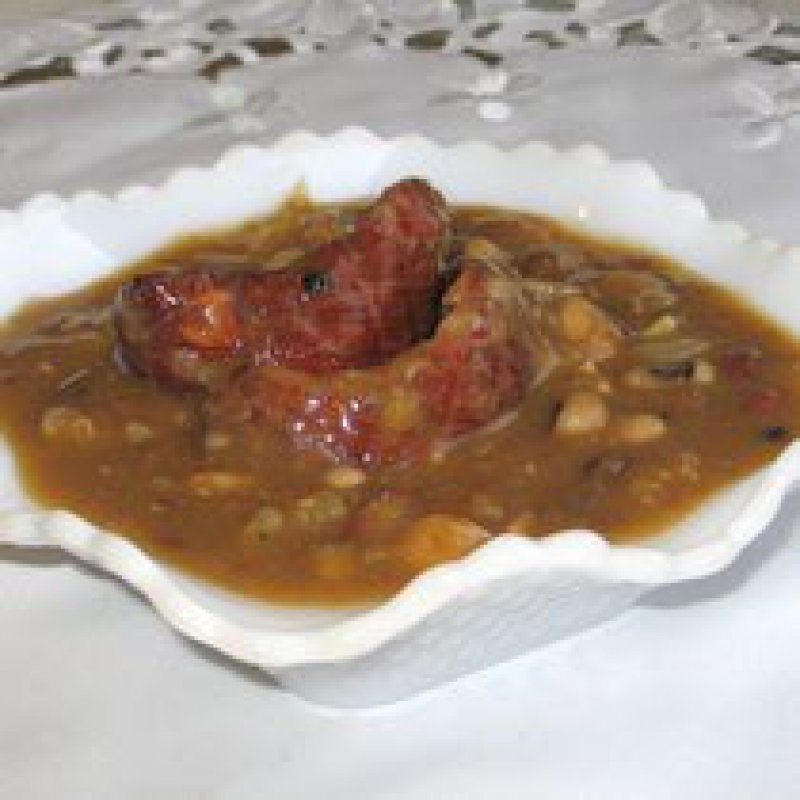 Croatian Salted Pork and Sauerkraut Soup Grah i Varivah