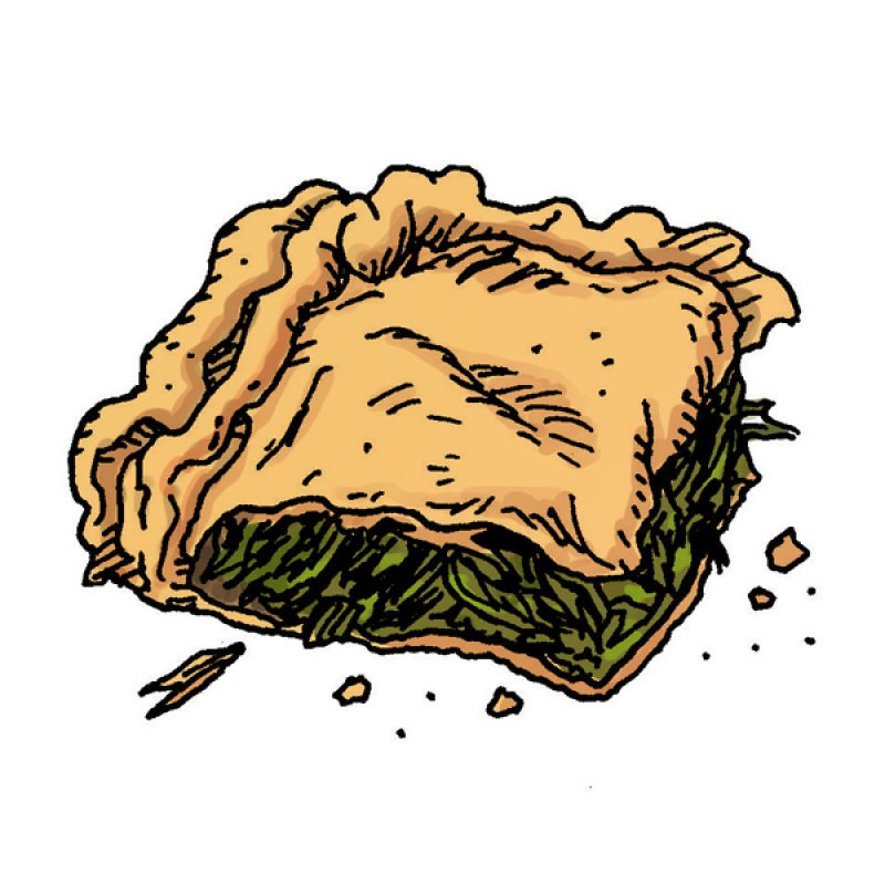 spinach pie, phyllo, pastry,
