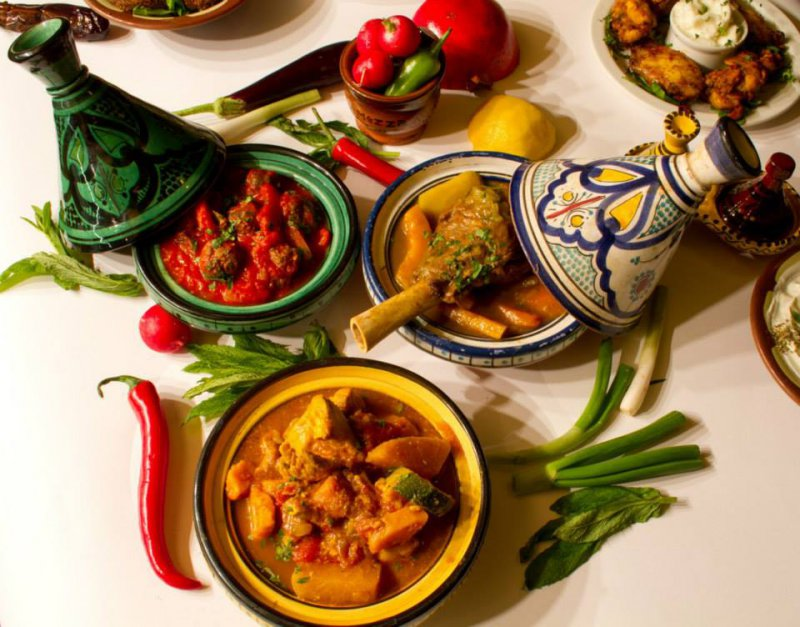 Tagine, the earthware cooking