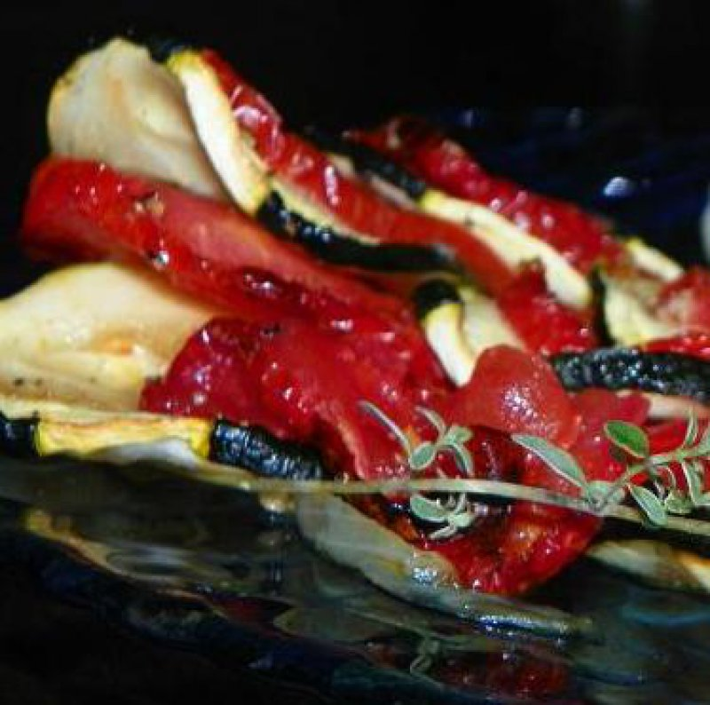 Oven-Baked Zucchini and Tomato-Tian from Provence