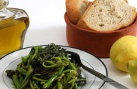 320 x 320: FOOD - GREECE - BOILED GREENS (HORTA)