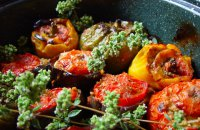 STUFFED TOMATOES AND PEPPERS (GEMISTA)
