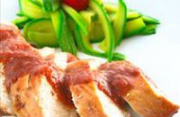 meat meals, easy recipes, fruit with chicken