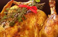 ROAST CHICKEN WITH FRESH HERBS