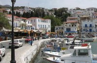 320 x 320: GREECE - CYCLADES - ANDROS - HARBOUR