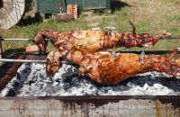 The Easter Spit-Roasted Lamb or Goat