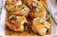 Chicken Fillets in the oven with Orange Juice