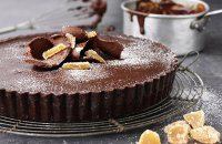 Divine Chocolate Ginger & Chilli Tart
