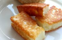Pan-Fried Formaella Cheese