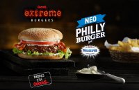 Νέο Extreme Philly Burger