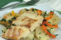 Oven-Baked Grouper or Salt Cod Fillet (Bianco)