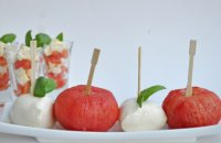 The modern way of Insalata Caprese