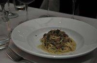 Orange Tagliolini  with Duck Ragout