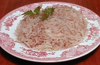Armenian Rice with Noodles in Chicken Broth