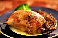 Stuffed Wild Duck