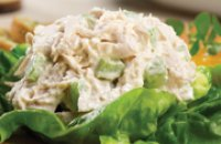 Chicken Salad with spicy feta cheese (kopanisti)