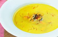 Cream Mussels with Saffron