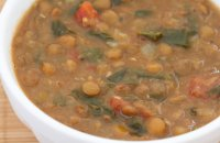 Lentil  Soup with Chard or Spinach