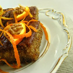 320 x 320: FOOD - WALNUT CAKE IN SYRUP