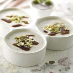 Cream with Chios Mastiha and Pistachios