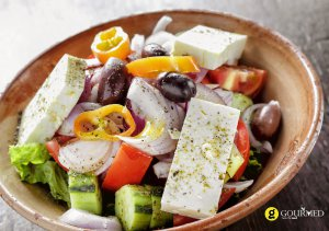 greek salad xoriatiki