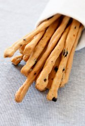 Bread sticks with Olives