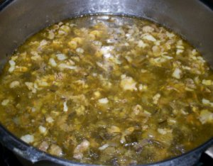 Greek Easter Soup with Lamb Offal - Magiritsa