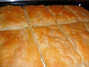 Rolled Cheese Pie